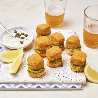 12 Mini Fish 'n' Mushy Pea Rosti's