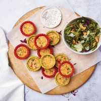 12 Vibrant Mini Quiche Selection
