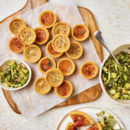 12 Classic Mini Quiche Selection