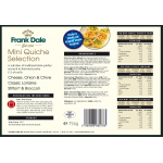 Mini Quiche Selection-Pack of 36 (3x12)