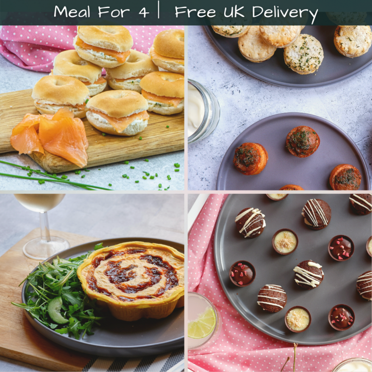 Meal for 4 - Home Delivery Included