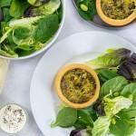 Vegan Spring Vegetable & Mature Cheddar Style Quiche - 2 x 190g