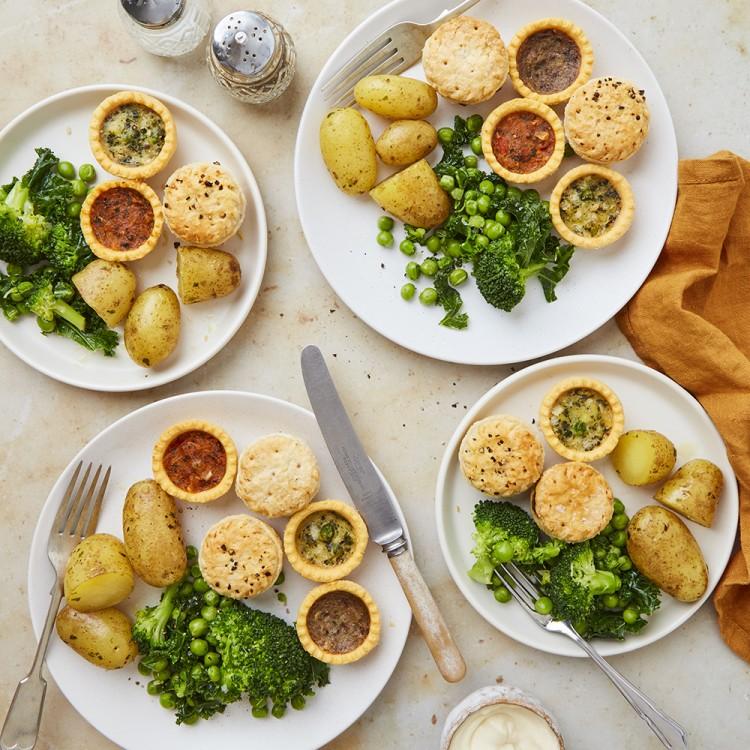 12 Vegan Mini Quiche Assortment