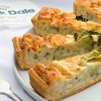 "Stilton and Broccoli 11"" Quiche (24-Portions 'Pick-Ups')"